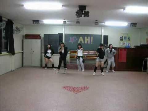 'After School - Ah' Dance cover (Korean high school girls)