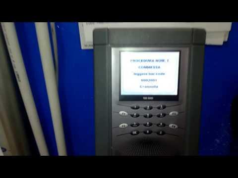 TBS5000RF Gestione avanzamento commesse con lettore CCD barcode azienda Bologna