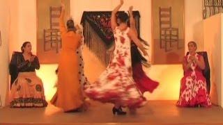 Aprende a bailar sevillanas. Parte 35