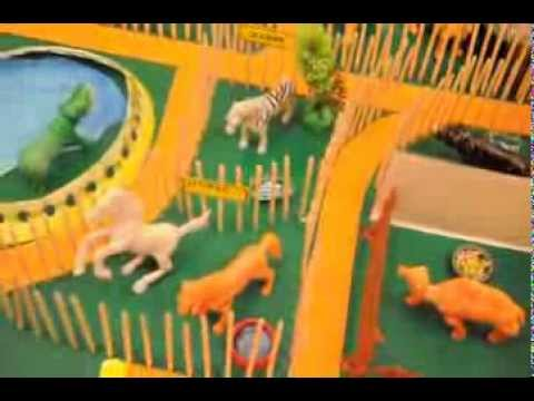 A Project On Model Of Zoo With Wild Animal Youtube