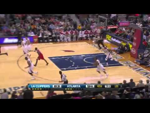 Los Angeles Clippers vs Atlanta Hawks 24th November 2012
