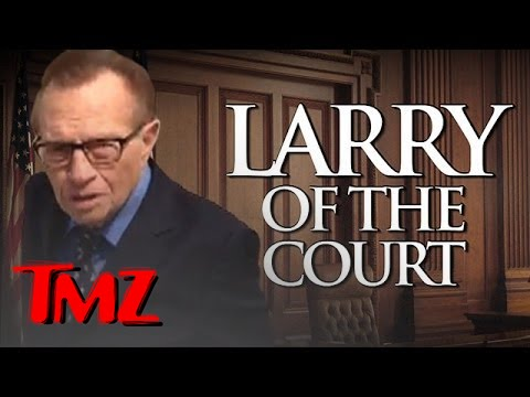 Larry King Scared Cop Outta Court!