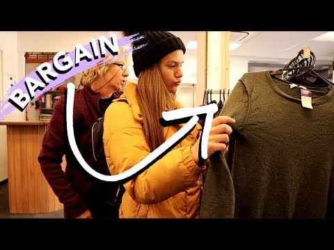 Thrift Shopping in New Zealand and More Snow Fun (actually, snow fails)