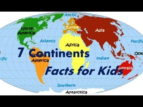 Kids Game For Identifying Continents States