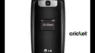 New Cricket LG True Flip Phone Unboxing And Review