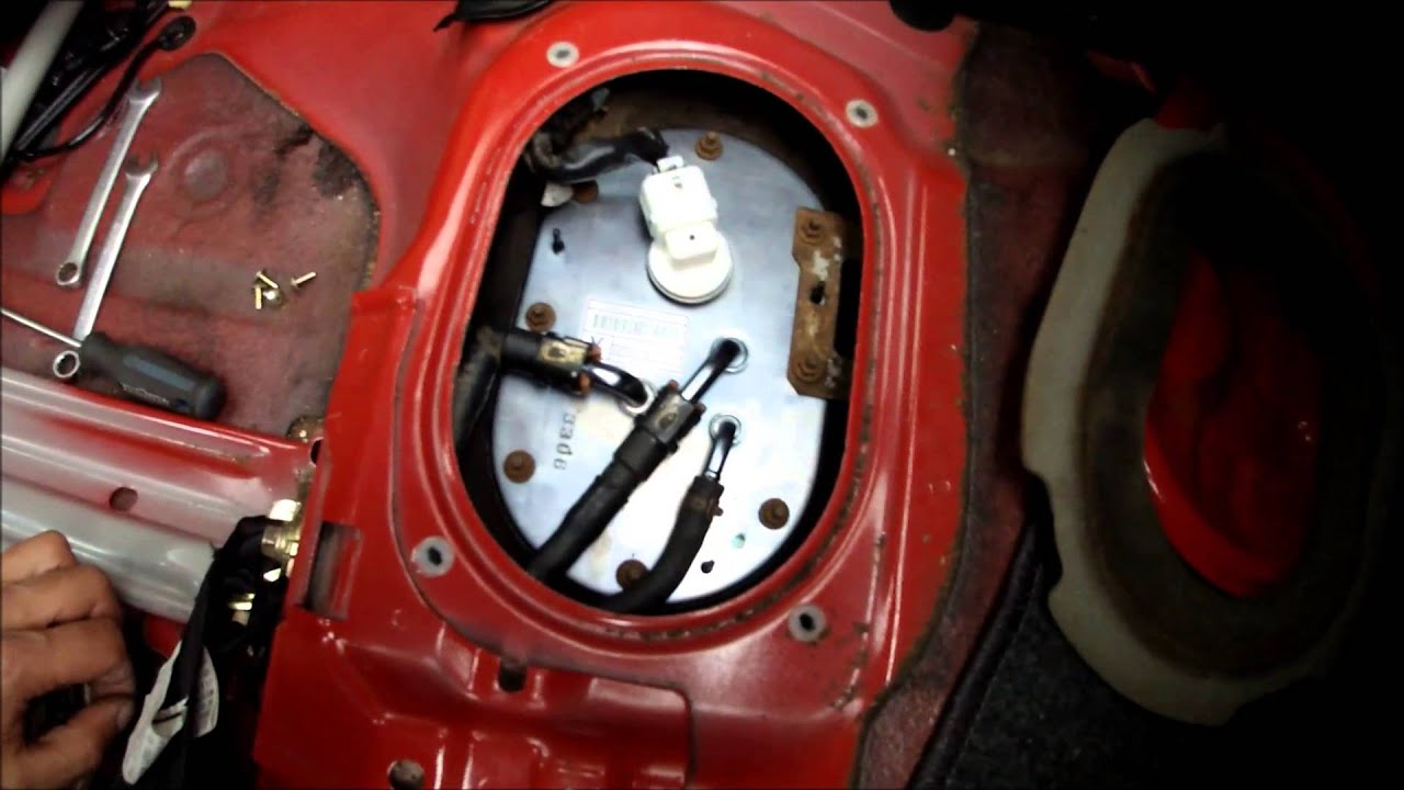 06 wrx fuel pump install twice youtube
