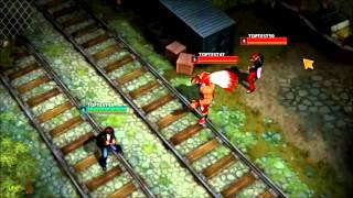 The King Of Fighters MOBA Gameplay