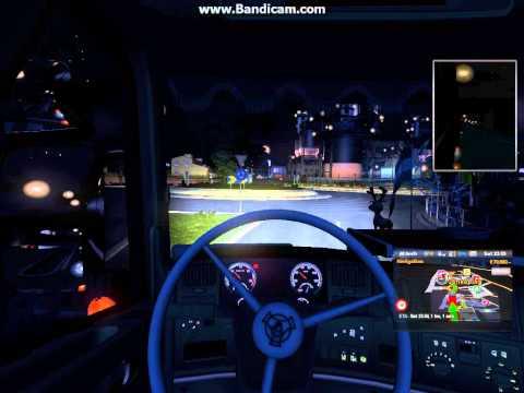 Euro Truck Simulator 2 Kiel Jonkoping With Scania R500 V8 Part 5