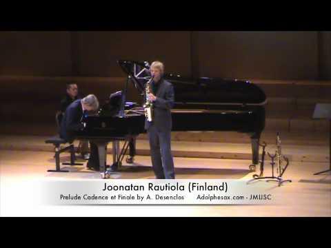 3rd JMLISC Joonatan Rautiola (Finland) Prelude Cadence et Finale by A. Desenclos