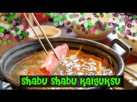 Korean Shabu Shabu