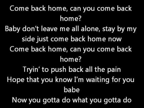 Youtube Ne Come Back Home Lyrics