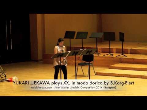 YUKARI UEKAWA plays XX In modo dorico by S Karg Elert