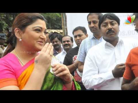 Khushboo's upset tweets | Quits DMK | Hot Tamil Cinema News