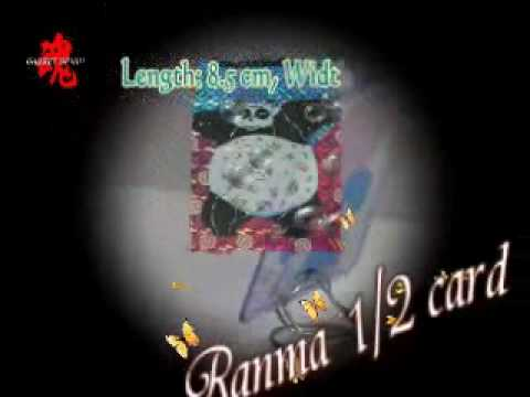 Japanese Anime Expo Special Ranma 1/2 Carddass Prism Card #108.wmv