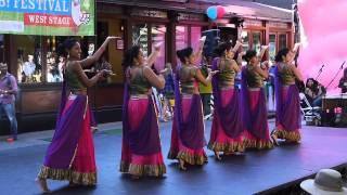 Ajna Dance Performance FAB Festival 2013 Ghagra, Silsila