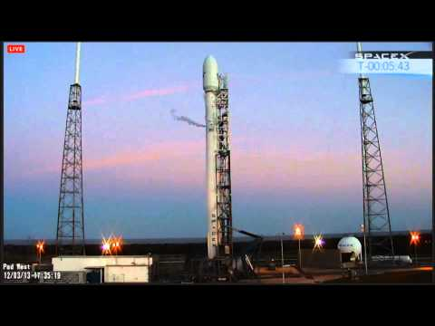 SpaceX Webcast - SES8 Falcon 9 Launch Success!- 3rd Attempt December 3, 2013