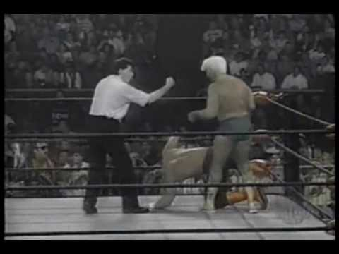 WCW Monday Nitro 1-15-96 Sting vs Ric Flair 1 of 2