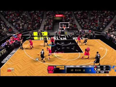 Thumbnail image for ''NBA 2K14' Online Gameplay: Chicago Bulls vs. Brooklyn Nets'