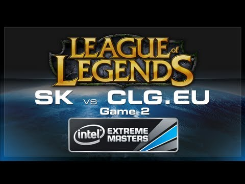 LoL Gamescom - SK Gaming vs CLG.eu Game 2 - European Regionals