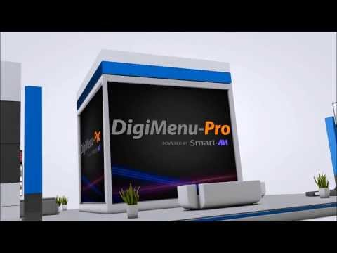 DigiMenu-Pro, The Complete Digital Menu Board Solution