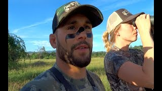 Abby's First Big Game Hunt!!| Cali Wild Boar-DAY 1