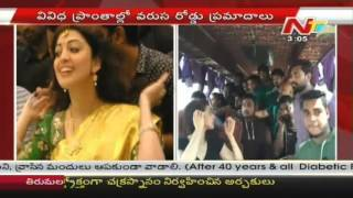 Pranitha Before & After Accident, Reaches Hyderabad