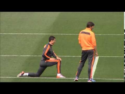 Así entrenó Cristiano Ronaldo | Diario Bernabéu
