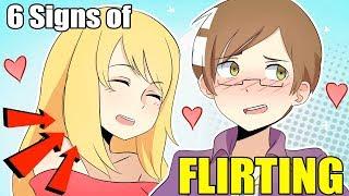 6 SIGNS OF FLIRTING! | Animation