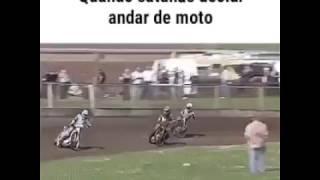 El diablo va en moto...