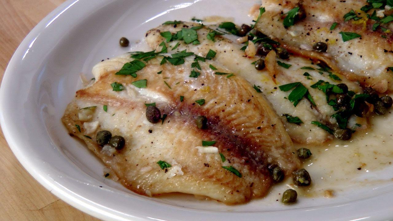 Fish Piccata Recipe - by Laura Vitale - Laura in the Kitchen Episode ...