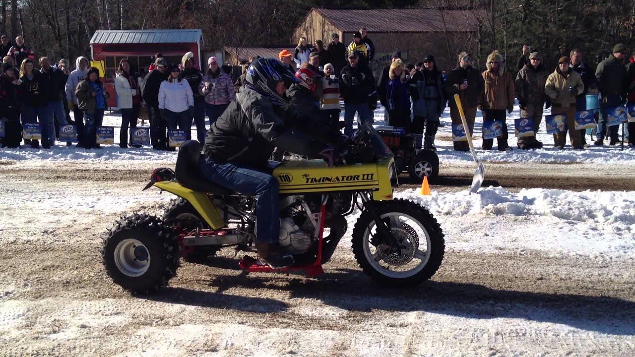 Garden Tractor Drag : Team swampass lawn mower racing tractor drag