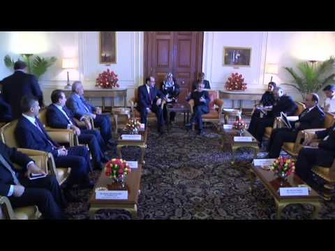 Prime Minister of Iraq calls-on the President on August 23, 2013