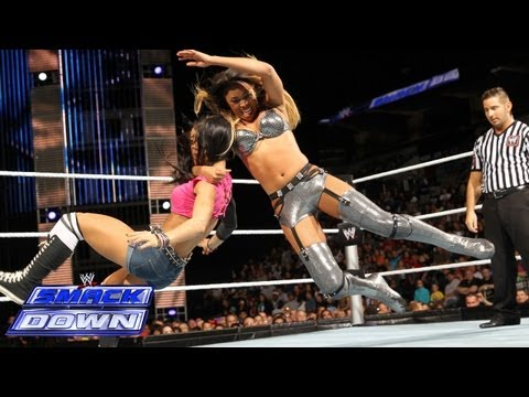 Cameron vs. AJ Lee: SmackDown, Sept. 27, 2013