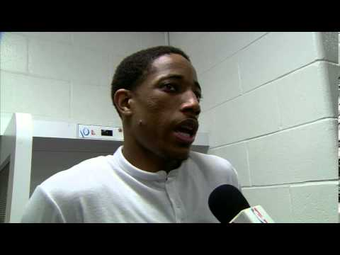 Raptors Post-Game: DeMar DeRozan