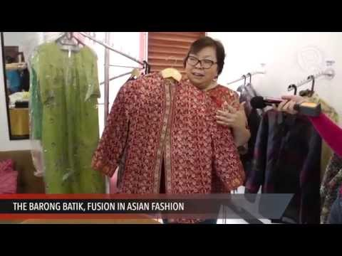 The Barong Batik, Fusion in Asian Fashion