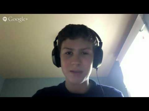 Meet Quin McIntire.from the Sonny Rollins Meets His Fans Google Hangout