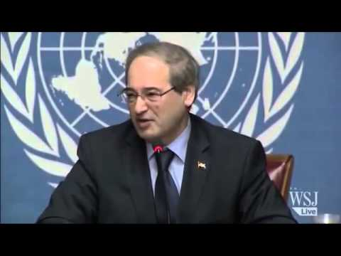 February 17 2014 Breaking News Russia Supports Assad Regime rejects Syria Peace talks proposal;