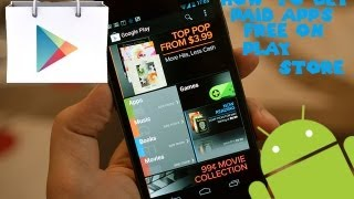 Android How To Get Paid Apps For FREE On Play St