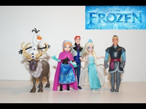 Disney Frozen - Movie 2013 Full English - Playset - Amazing Toys