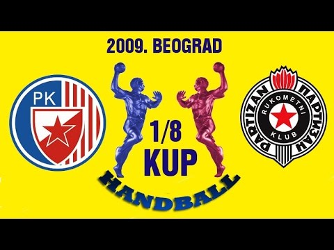 RK Partizan – RK Crvena Zvezda (1/8 Kupa Srbije 2009.)