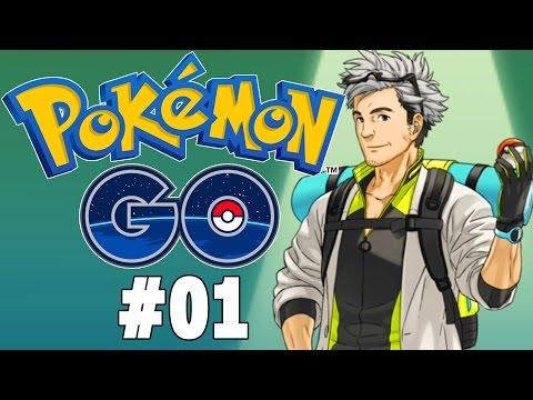 Pokemon GO Part 1 - I Choose You! Gameplay Walkthrough