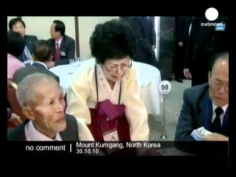 Separated family reunion meeting in North Korea - no comment