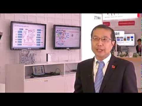 ITU Telecom World 2013: David Dai, department director of corporate branding and communications, ZTE