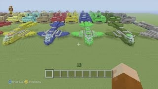 Minecraft Xbox 360 Edition: How To Build The UNSC Pelican