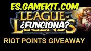 RIOT POINTS GRATIS LEGAL Es.gamekit.com PARTE 1