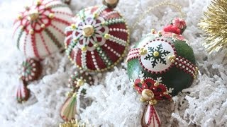 How To Assemble 3-D Christmas Ornament Cookies
