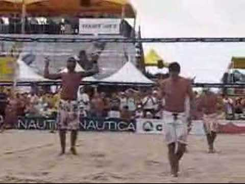 AVP Manhattan Beach Medel Souza vs Stolfus Wachtfogel Pt I
