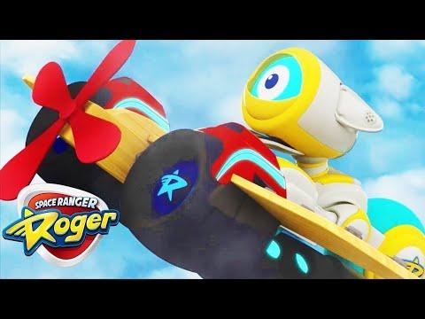 Space Ranger Roger | The Bot Pilot | Full Episode HD | Funny Cartoons For Kids