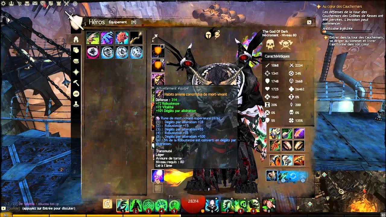 Guild Wars  Build Necro Pve