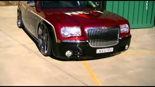 Air Bagged Chrysler 300c Bagged By Tubular Suspension
